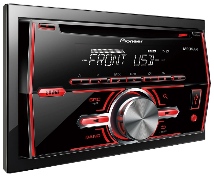 PIONEER FH-X380UB 2-x DIN USB iPod/iPhone мультицвет