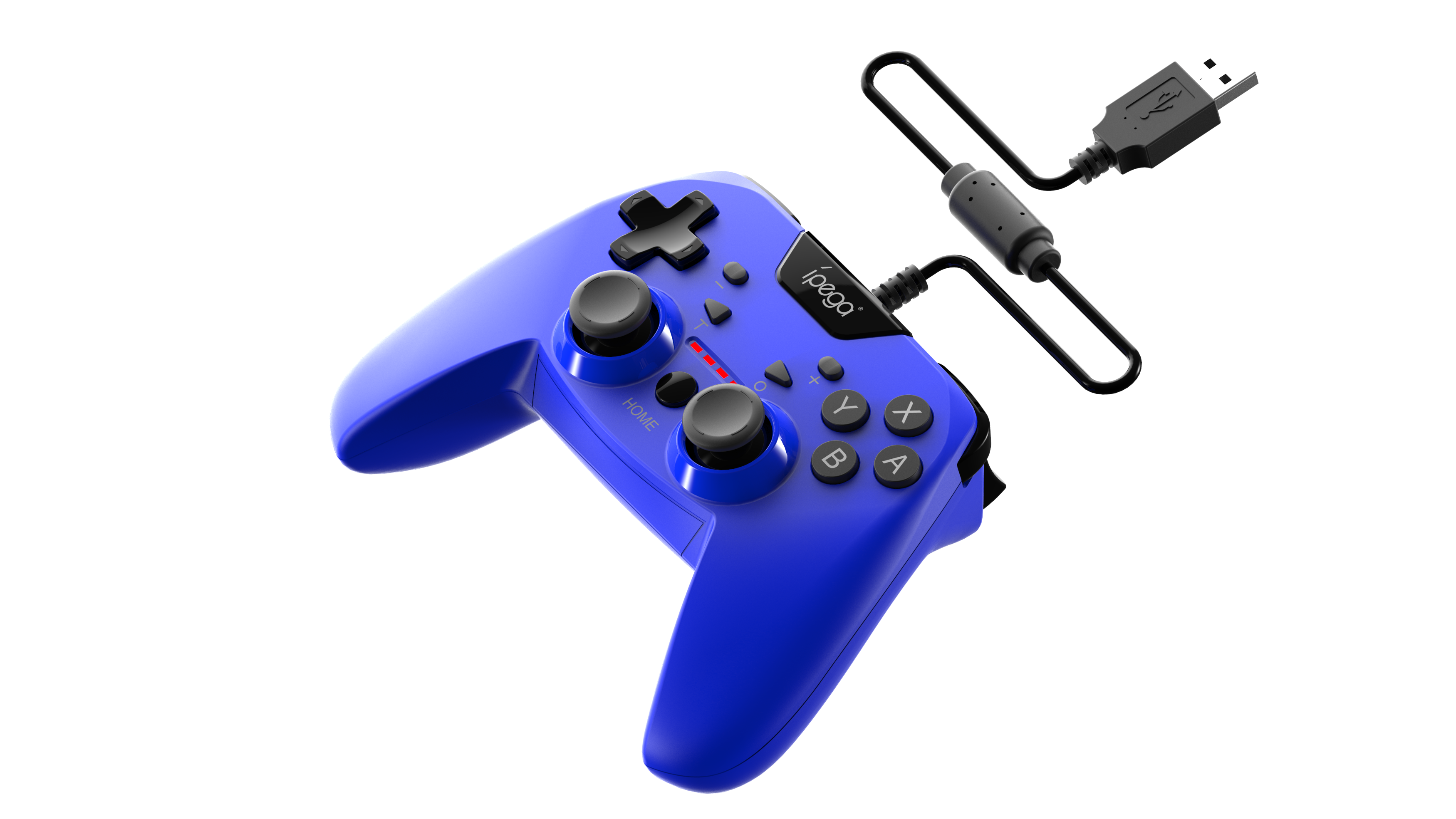 Джойстик Android/Switch/PS3/PC Wired Controller Blue PG-SW012B iPega
