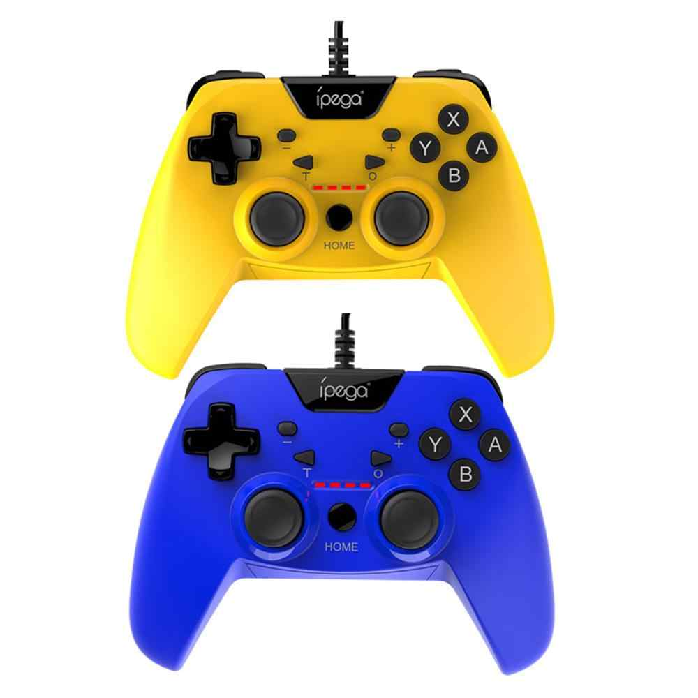 Джойстик Android/Switch/PS3/PC Wired Controller Yellow PG-SW012A iPega