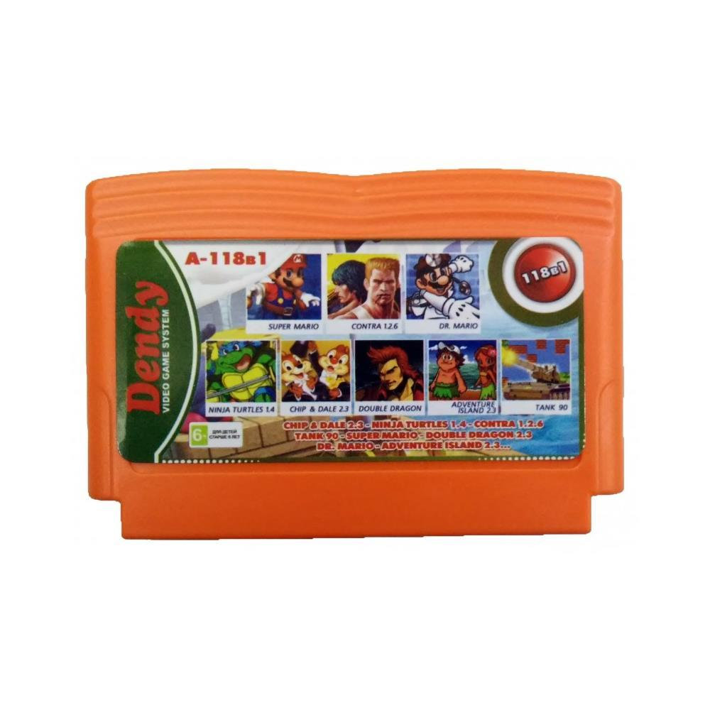 A-118в1 CHIP&DALE 2.3+TANK 90+SUPER MARIO+NINJA TURTLES 1.4+DOUBLE DRAGON 2.3+CONTRA 1.2.6+DR.