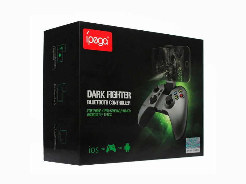 Джойстик Android/IOS/WIN Dark Fighter Wireless Controller PG-9062S iPega