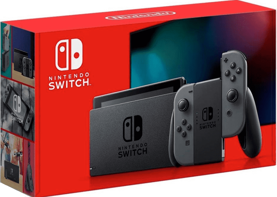 Nintendo Switch Grey New\ Hac 001-01