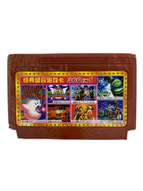 A-360 в1 TEKKEN 2+D.DRAGON 1.2.3+CHIP&DALE 1.2+G.I.JOE 1.2+NINJA TURTLES 1.2.3.4+S.MARIO+TANK+.