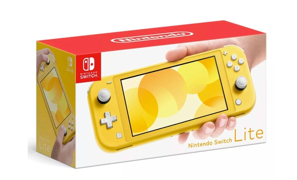 Nintendo Switch Lite желтый