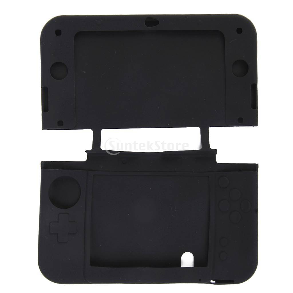 Чехол защитный Nintendo NEW 3DS XL Silicon Case Black