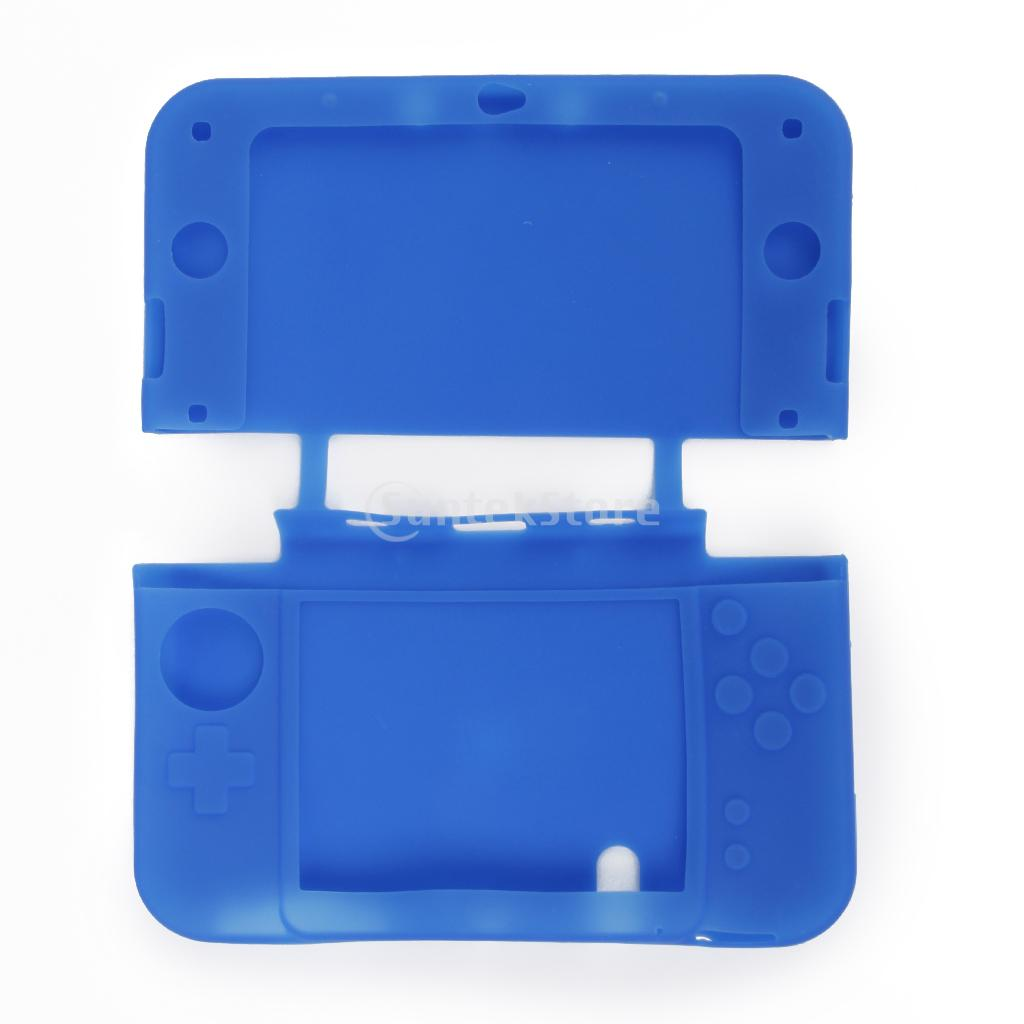 Чехол защитный Nintendo NEW 3DS XL Silicon Case Blue