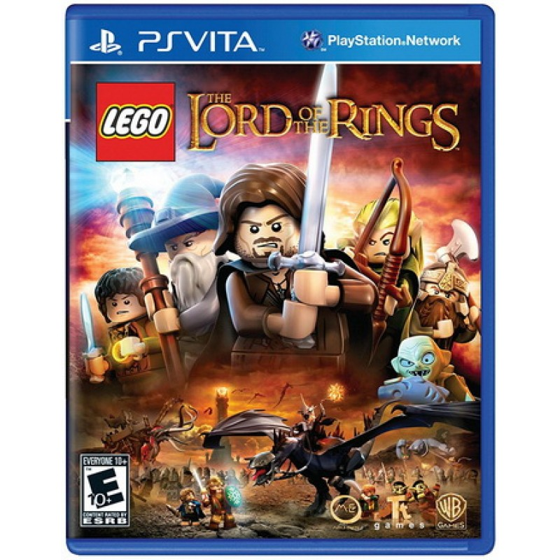 LEGO Lord of the Ring [PS Vita, русские субтитры]